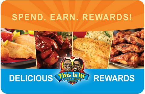 This Is It! BBQ and Seafood - Rewards Card
